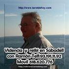 Ramon tarot y videncia 10 euros x 20 mtos  telf. 618620776