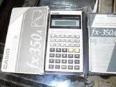 calculadora casio y compás