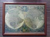 Puzzle de Atlas Enmarcado