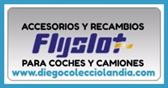 ACCESORIOS , RECAMBIOS Y REPUESTOS FLYSLOT PARA SCALEXTRIC EN DIEGO COLECCIOLANDIA