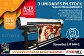 Impresora ecosolvente StormJet con cabezal Epson alta calidad de impresion y bajo coste por m2